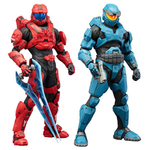 Kotobukiya Halo Spartans Two-Pack Red Blue
