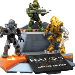 SDCC 2015 Exclusive Halo Mega Bloks Icons Figures Set!