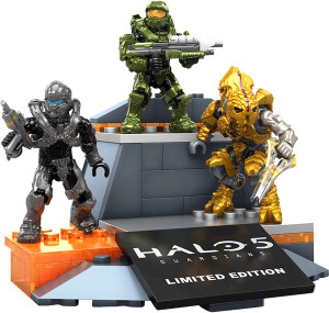 SDCC 2015 Exclusive Halo Mega Bloks Icons Figures Set