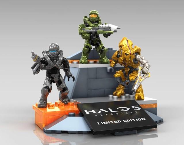 SDCC 2015 Exclusive Halo Mega Bloks Icons Figures Set