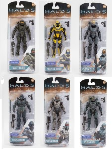 McFarlane Toys Halo 5 Guardians Series 1 Figures Packaged
