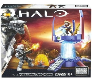 Halo Mega Bloks 2016 Covenant Watch Tower Set Box