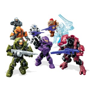 Halo Mega Bloks Echo Series Figures