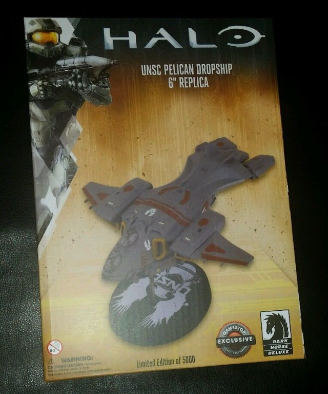 Gamestop Exclusive UNSC Pelican Vehicle Replica