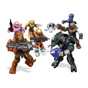 Halo Mega Bloks Delta Series Figures 2016