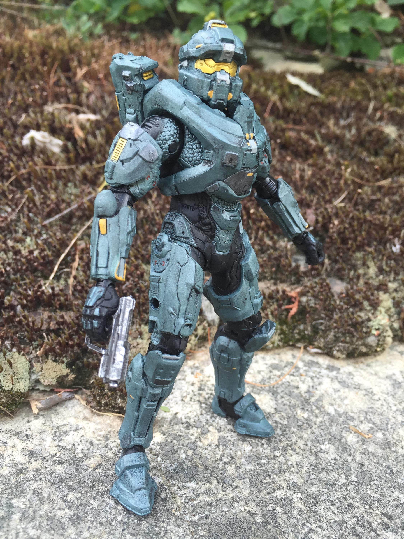 12 Mattel Halo Spartan Fred Figure