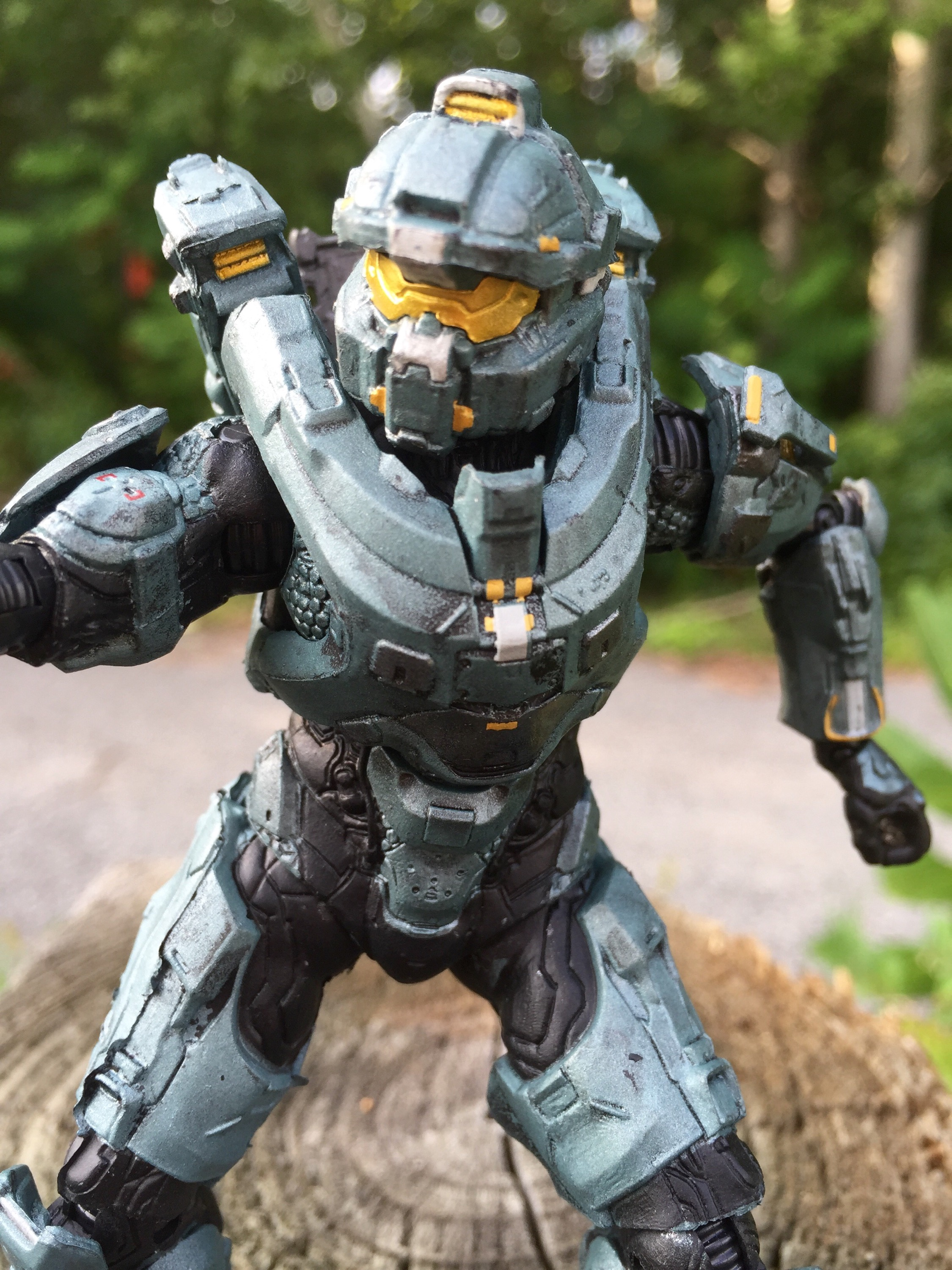 Mcfarlane Toys Halo 5 Guardians Fred Figure Review Halo Toy News