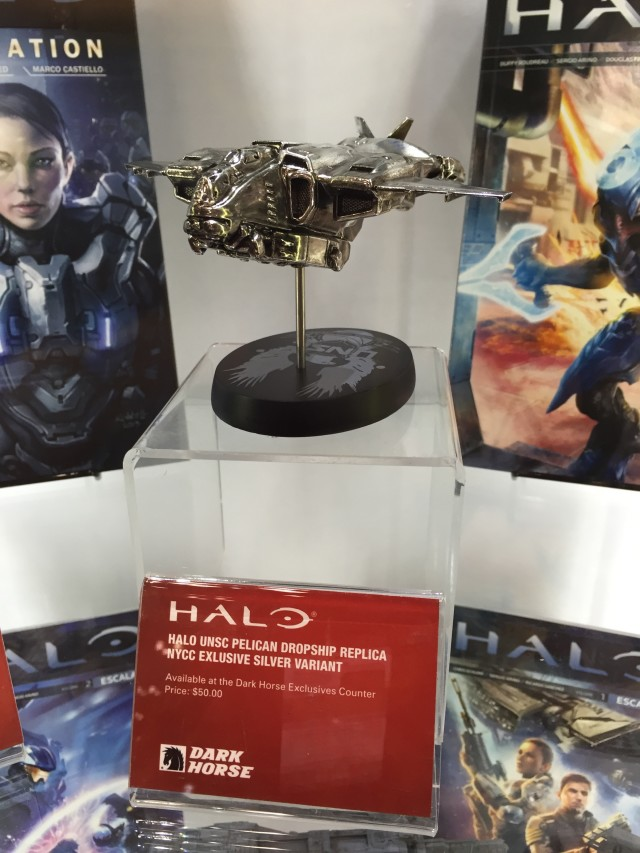 Halo Silver Pelican NYCC 2015 Exclusive Ship