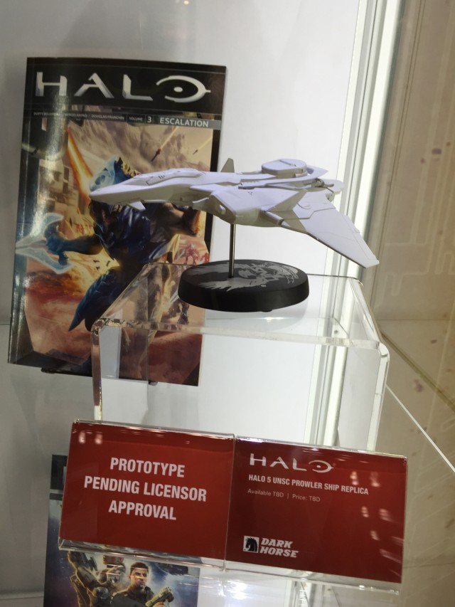 Halo 5 UNSC Prowler Ship Replica Prototype