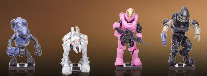 Halo Mega Bloks Delta Series Figures Revealed! - Halo Toy News