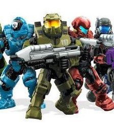 Mega Bloks Halo Heroes Wave 1 Preview Image