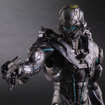 Halo 5 Play Arts Kai Master Chief & Locke Up for Order!
