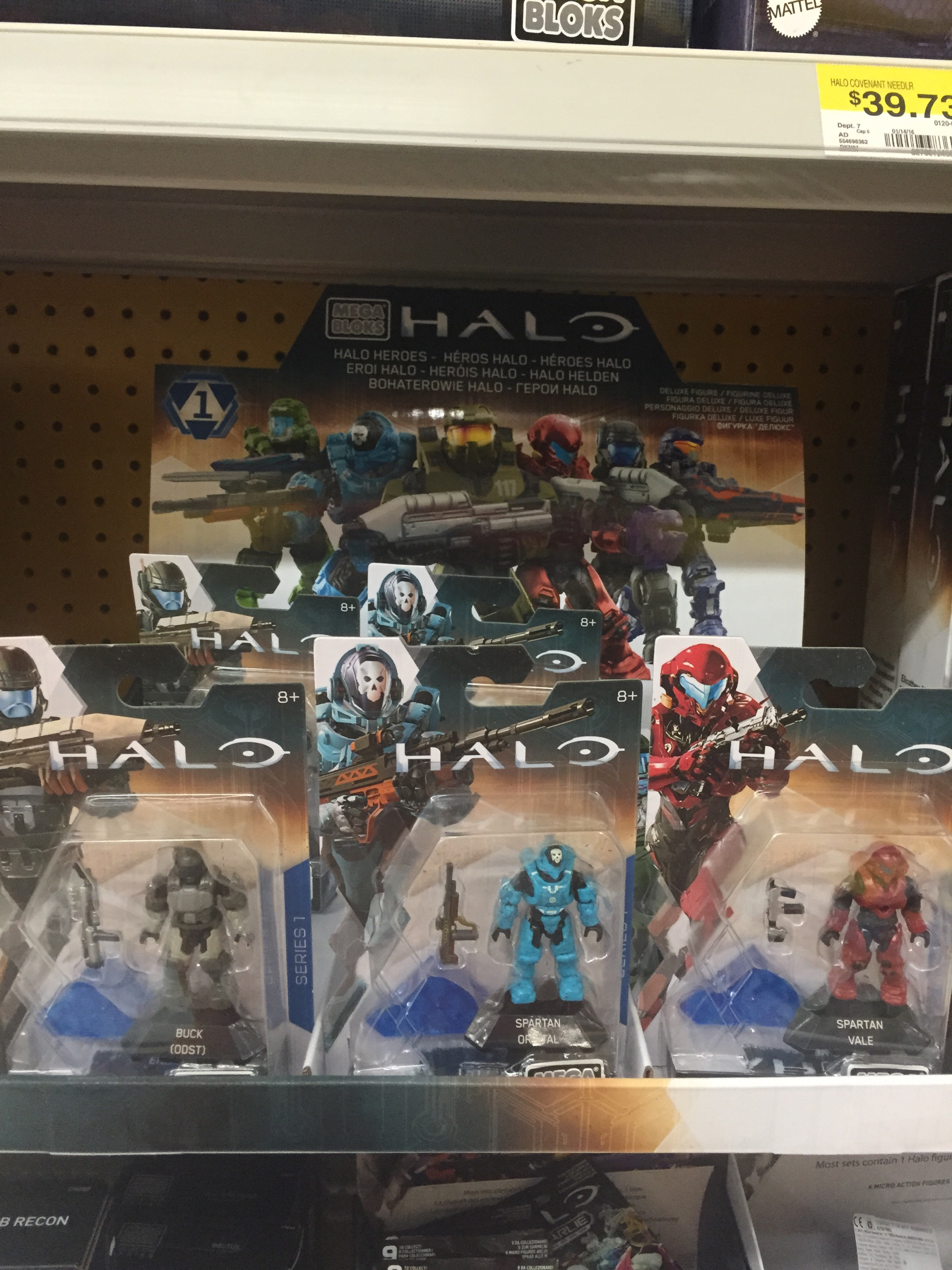 Halo Mega Bloks 2016 Halo Heroes Series 1 Figures Released! - Halo