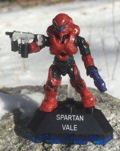 Halo Mega Bloks Halo Heroes Spartan Vale Figure Review