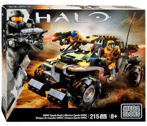 32730 UNSC Spade Rush Halo Mega Bloks Summer 2016 Set Box