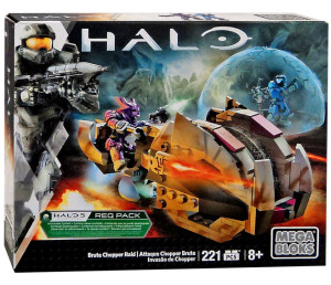 Halo Mega Bloks 2016 Brute Chopper Raid Set with Spartan Kat