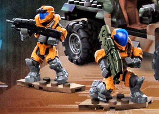 2016 Halo Mega Bloks UNSC Spade Rush Set Photos! - Halo Toy News