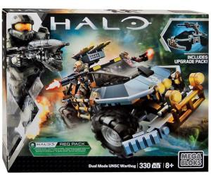 Halo Mega Bloks Dual Mode UNSC Warthog Set 31846