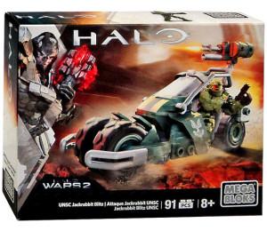 Halo Wars 2 Mega Bloks UNSC Jackrabbit Blitz Set