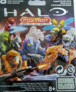 Halo Mega Bloks Foxtrot Series Figures Packaging