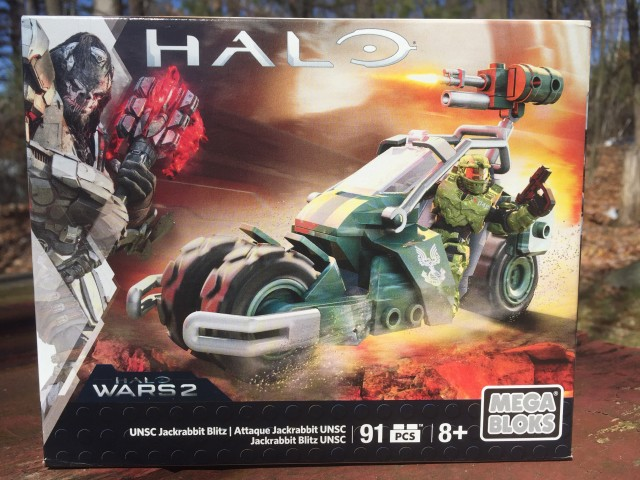 Halo Wars 2 Jackrabbit Blitz Mega Bloks Set Box Front