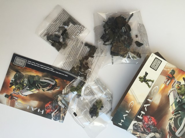 Halo Mega Bloks Jackrabbit Blitz Set Unboxing
