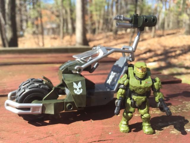 Halo Mega Bloks UNSC Jackrabbit Blitz Review