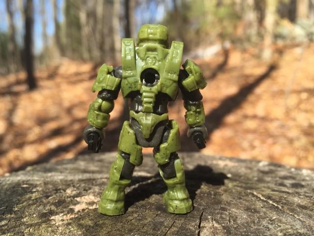 Spartan Douglas-042 Mega Bloks Figure Back