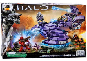 Mega Bloks Halo Covenant Wraith Ambush 31844 Set Box
