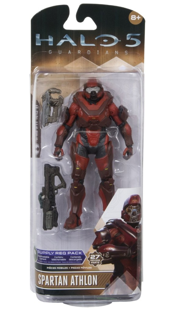 Halo 5 Wave 2 Red Athlon Spartan Action Figure McFarlane Toys