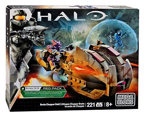 Halo Mega Bloks Brute Chopper Raid Set Box