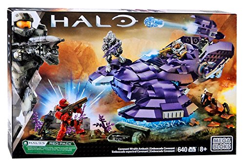 Halo Mega Bloks Covenant Wraith Ambush Set Box