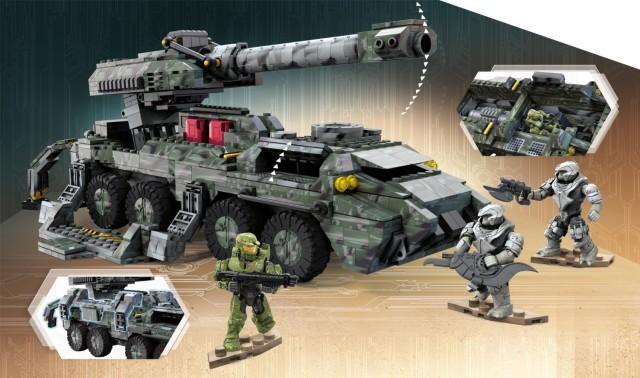 Halo Mega Bloks UNSC Kodiak Siege Set