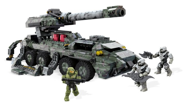 Halo Wars 2 Kodiak Mega Bloks Set with Alice-130 Spartan Figure