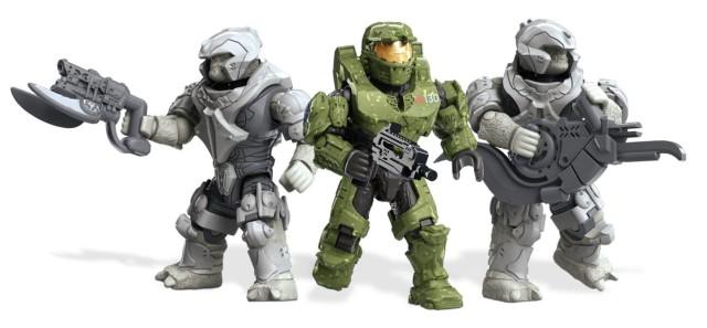Mega Bloks Halo Wars 2 UNSC Kodiak Siege Figures Spartan Alice Brutes