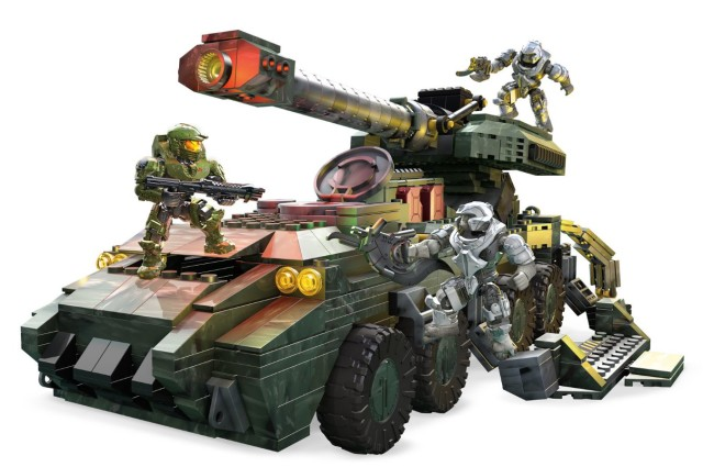 UNSC Kodiak Halo Wars 2 Mega Bloks Set