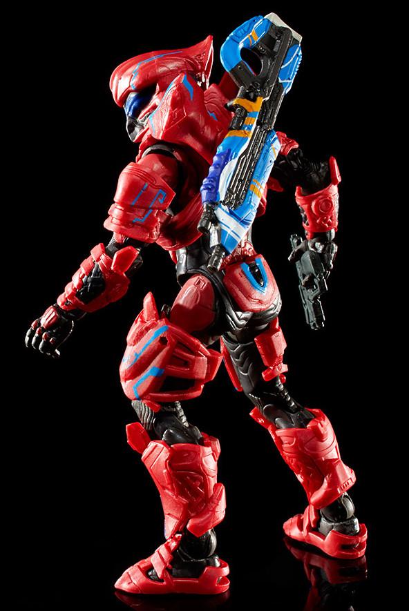 Back of Mattel SDCC 2016 Exclusive Spartan Helioskrill Figure