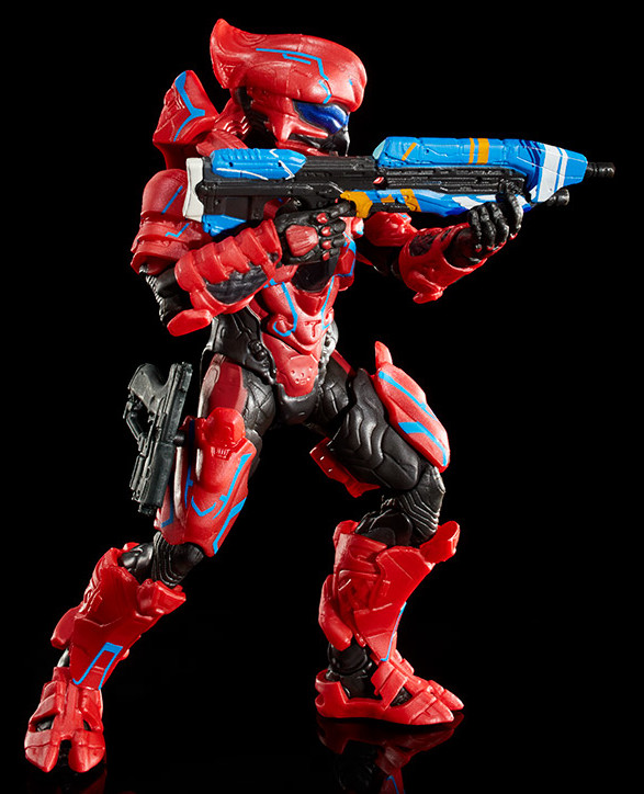 Bracer MA5 Assault Rifle with Spartan Helioskrill 6 Inch Figure