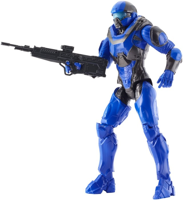 Halo Blue Team Athlon Spartan Mattel Figure