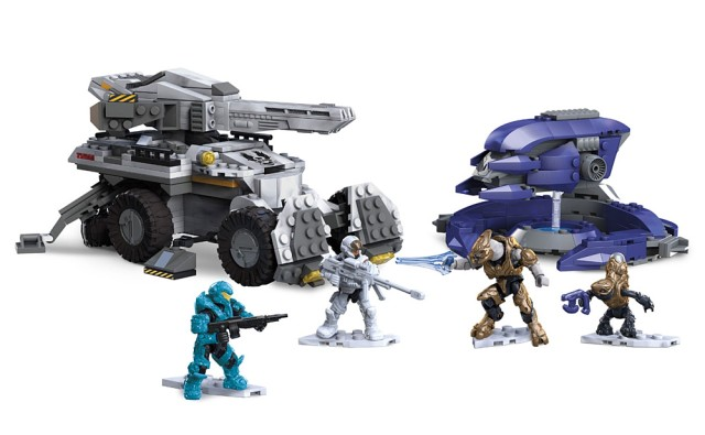 Halo Mega Bloks Cobra Clash Set