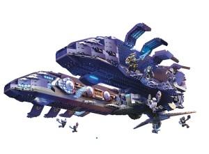 Halo Mega Bloks Covenant Spirit Drop Ship
