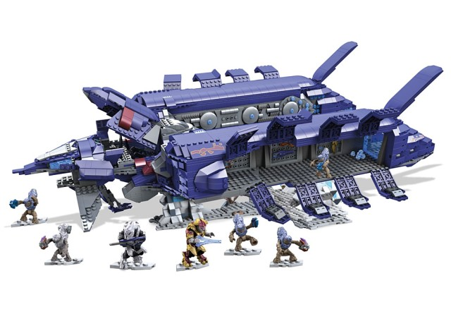 Halo Mega Bloks Signature Series Covenant Spirit Set Photo
