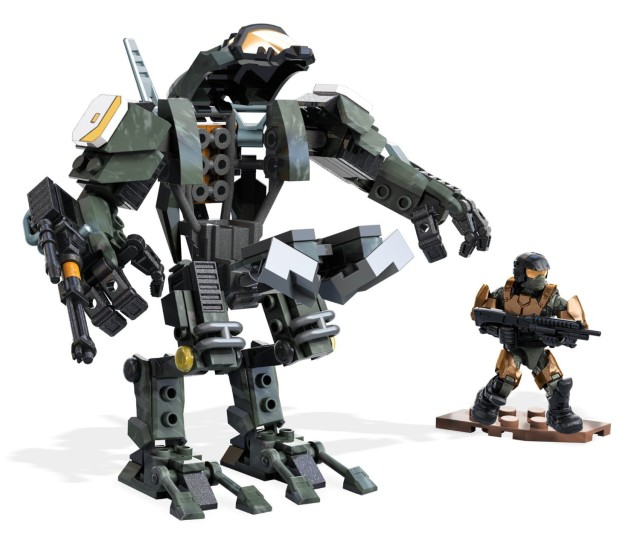 Halo Mega Bloks Summer 2016 Sets Strike Cyclops