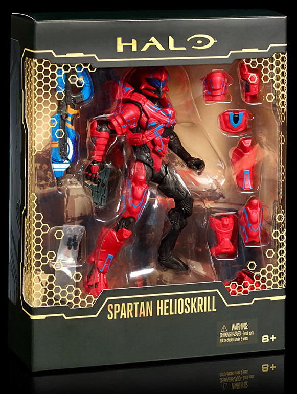 Helioskrill Spartan SDCC 2016 Exclusive Halo Figure in Box
