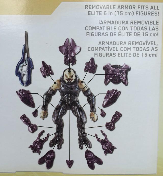 Mattel Elite Removable Armor Diagram