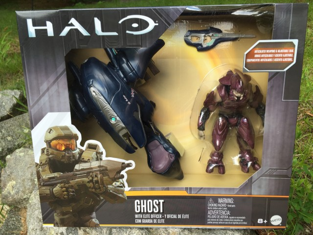 Packaged Halo Covenant Ghost & Elite Figure by Mattel