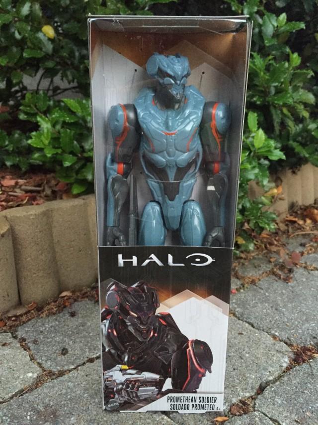Mattel Promethean Soldier Halo Figure Packaged