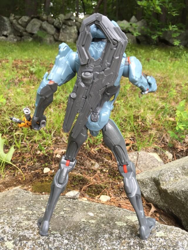Halo Suppressor on Back of Promethean Soldier