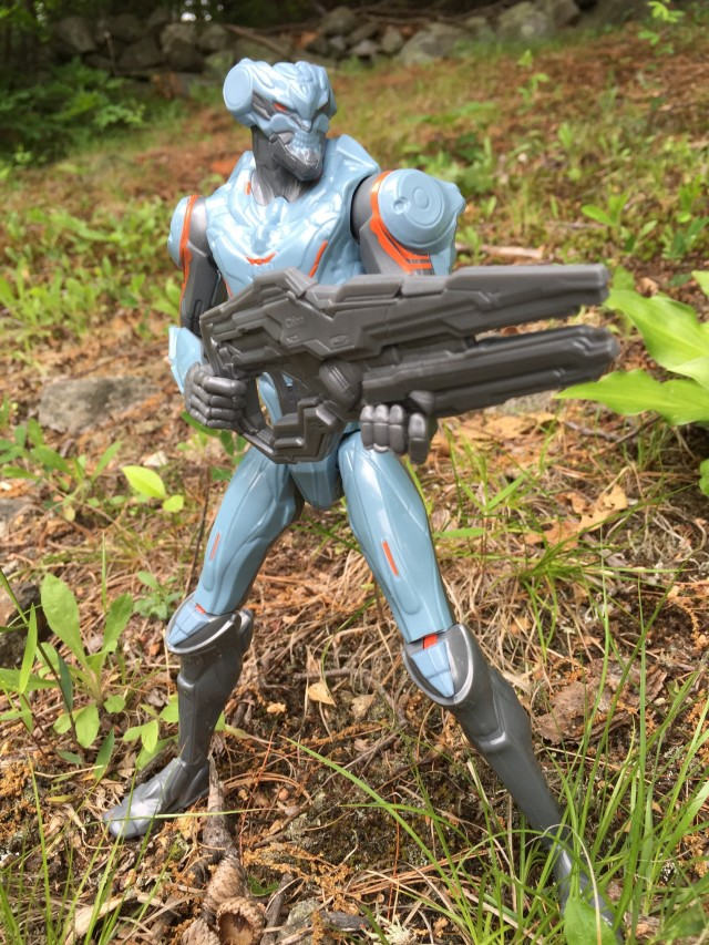 Halo Mattel Promthean Soldier Action Figure with Suppressor