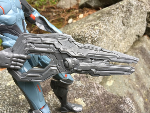 Close-Up of Forerunner Suppressor Mattel Halo Gun